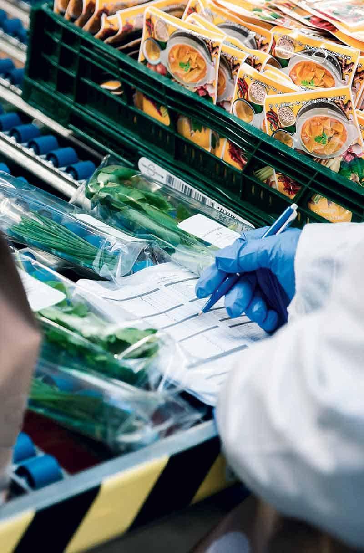 B+S bietet qualitativ hochwertige Logistikdienstleistungen im Bereich Food.