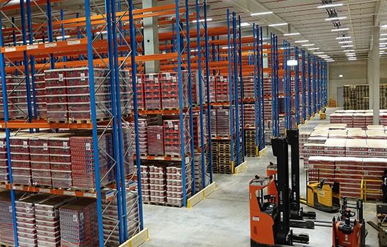 Ob Tierfutter oder Süßwaren wie hier in Ulm - B+S bietet Dienstleistungen für alle Arten der Foodlogistik und Petcare-Logistik.