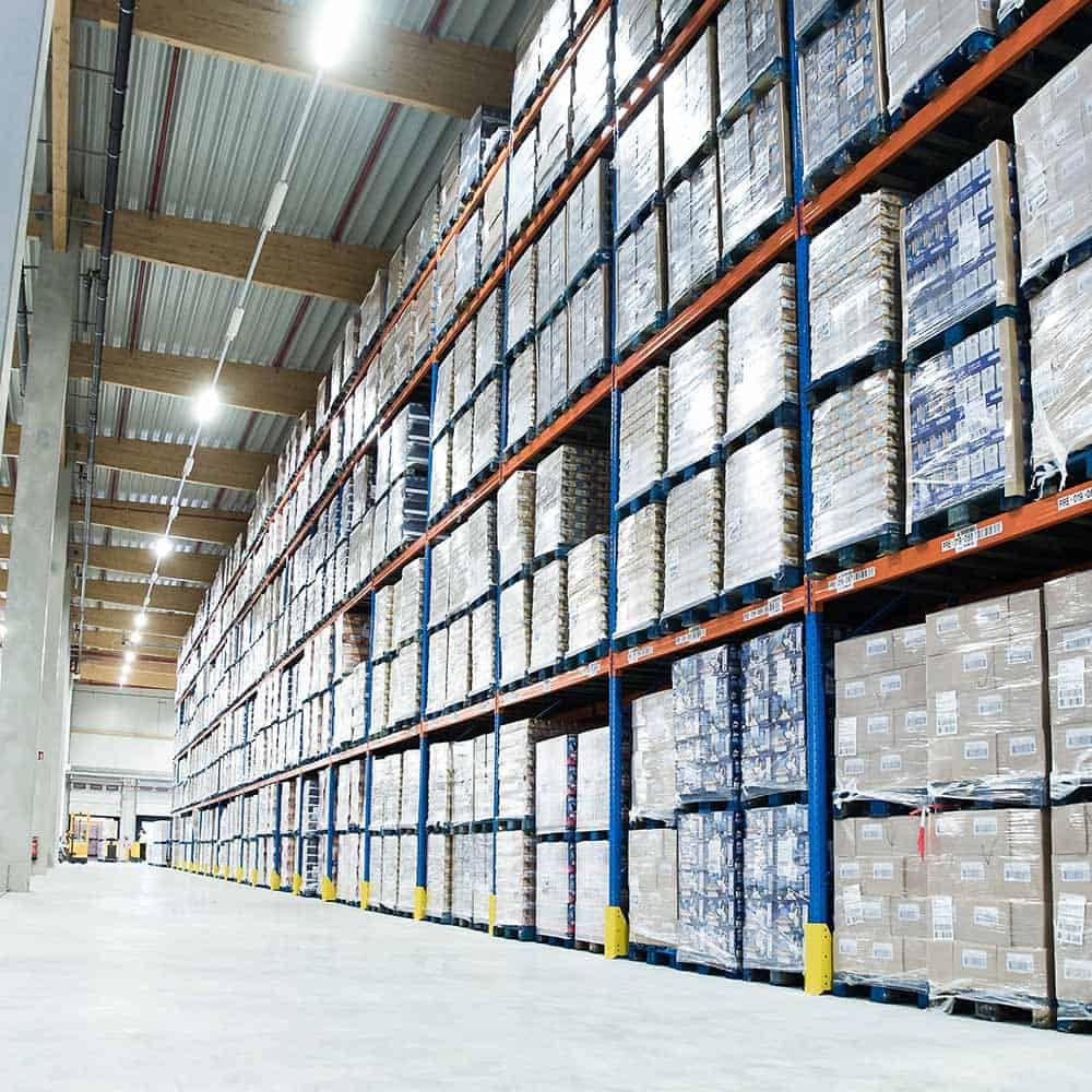 Hygienisch einwandfreie Behandlung und Lagerung von Waren: nach HACCP und IFS. | Hygienic handling and storage of goods: in accordance with HACCP and IFS.