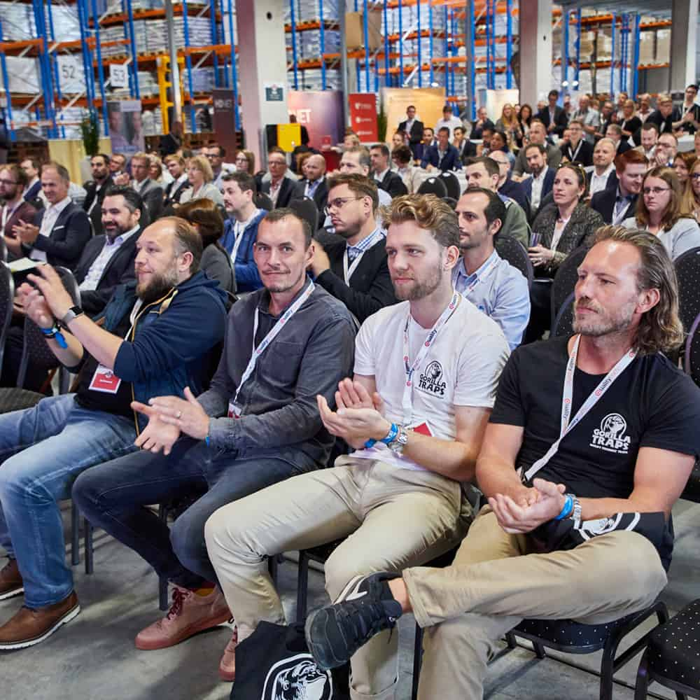 Die dritte Auflage des E-Commerce BBQ war gut besucht: 520 Teilnehmer interessierten sich für die aktuellen Trends im Onlinehandel. | The third E-Commerce BBQ was well attended: 520 participants were interested in current trends in online trade.