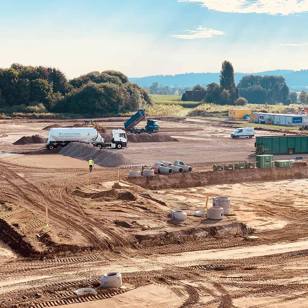 Von der Planung bis zur Bewirtschaftung: B+S kümmert sich um neue Standorte. | From planning to management: B+S takes care of establishing new facilities.