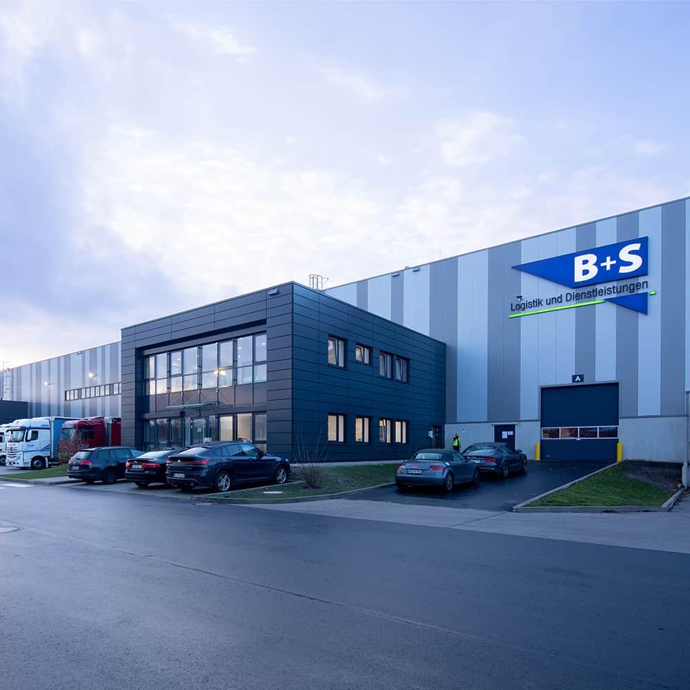 Modernste Logistikanlage: B+S in Bremen. | The ultramodern logistics facility: B+S in Bremen.