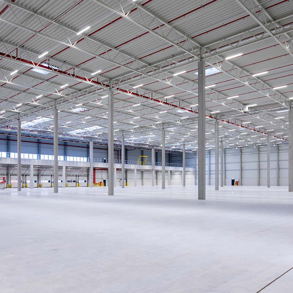 30.000 Quadratmeter Logistikfläche überzeugen User bei B+S in Bremen. | 30,000 square meters of logistics space impress users at B+S in Bremen.